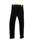 DIOR HOMME(ディオールオム)の古着「スキニーデニムパンツ」|ブラック