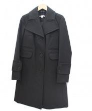 CARVEN(カルヴェン)の古着「ウールコート」 ブラック