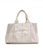 PRADA(プラダ)の古着「カナパトートバッグ」 グレー