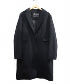 SLOBE IENA(イエナスローブ)の古着「カシミヤ混チェスターコート」|ブラック