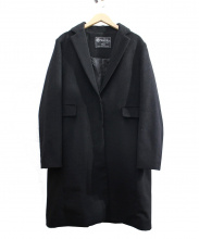 SLOBE IENA(スローブ イエナ)の古着「カシミヤ混チェスターコート」|ブラック