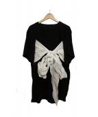 MM6(エムエムシックス)の古着「前結びTシャツ」
