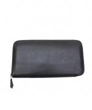 HERMES(エルメス)の古着「ラウンドファスナー長財布」|ブラック