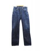SAMURAI JEANS(サムライジーンズ)の古着「セルビッチデニムパンツ」|インディゴ
