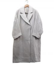 ENFOLD(エンフォルド)の古着「コクーンコート」|ベージュ