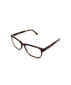 BEAUTY&YOUTH×KANEKO OPTICAL(ビューティアンドユース×金子眼鏡)の古着「伊達眼鏡」|ブラウン