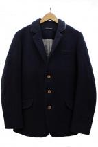 FRANK LEDER(フランクリーダー)の古着「3Bウールジャケット」|ネイビー