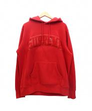 Supreme(シュプリーム)の古着「パテントアーチロゴプルオーバーパーカー」|レッド