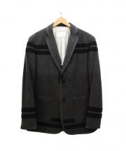 Black Fleece(ブラックフリース)の古着「ラインデザインテーラードジャケット」