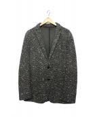 JOSEPH HOMME(ジョセフ オム)の古着「ツイードジャケット」 ブラック