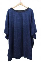 YOHJI YAMAMOTOSuper Blue(ヨウジヤマモトスーパーブルー)の古着「プリントTシャツ」