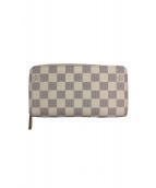LOUIS VUITTON(ルイ・ヴィトン)の古着「ラウンドファスナー長財布」