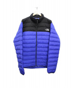 THE NORTH FACE×BEAMS(ザノースフェイス×ビームス)の古着「マルチドージーインサレーテッドジャケット」 ブルー×ブラック