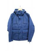 DELUXE(デラックス)の古着「HOLIDAY マウンテンパーカー」|ブルー