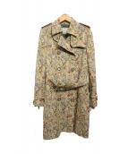 Lois CRAYON(ロイスクレヨン)の古着「ゴブラン織トレンチコート」