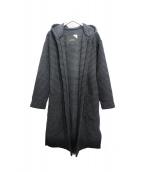 ATON(エイトン)の古着「パッチポケットコート」 グレー