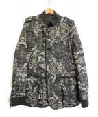 MESSAGERIE(メッサジェリエ)の古着「中綿ジャケット」 カーキ