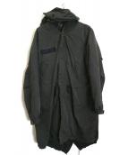 AVIREX(アヴィレックス)の古着「ライナー付モッズコート」|ブラック