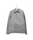 C.P COMPANY(シーピーカンパニー)の古着「ジップシャツジャケット」|グレー
