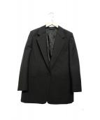 ACNE STUDIOS(アクネ ストゥディオズ)の古着「シングルジャケット」 ブラック
