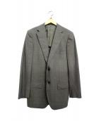 green label relaxing(グリーンレーベルリラクシング)の古着「2Bテーラードジャケット」|グレー