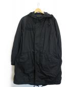 ALPHA(アルファ)の古着「ライナー付モッズコート」|ブラック