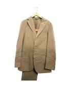Belvest(ベルベスト)の古着「ガーメントウォッシュスーツ」|ベージュ
