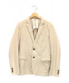 JOURNAL STANDARD(ジャーナルスタンダード)の古着「2Bジャケット」|ベージュ