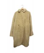 Traditional Weatherwear(トラディショナルウェザーウェア)の古着「ウールボアコート」 ベージュ