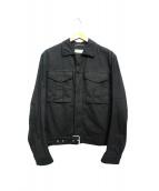 Saint Laurent Paris(サンローランパリ)の古着「デニムジャケット」 ブラック
