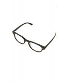 金子眼鏡(カネコメガネ)の古着「アイウェア」|ブラック