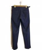 G.T.A(ジーティーアー)の古着「ストレッチツイル2プリーツパンツ」 ブルー