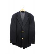 Brooks Brothers(ブルックスブラザーズ)の古着「段返り3ボタンブレザー」 ネイビー