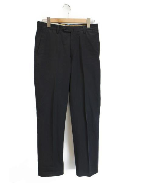 G.T.A(ジーティーア)G.T.A (ジーティーア) センタープレスパンツ ブラック サイズ:46の古着・服飾アイテム