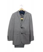 BURBERRY BLACK LABEL(バーバリーブラックレーベル)の古着「セットアップスーツ」|スカイブルー
