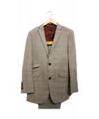 BURBERRY BLACK LABEL(バーバリーブラックレーベル)の古着「ブリティッシュ2Bスーツ」|ブラウン