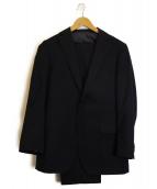 MITSUMINE(ミツミネ)の古着「2Bセットアップスーツ」|ブラック
