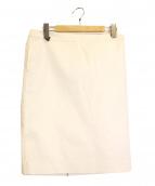 ADORE(アドーア)の古着「ストレッチタイトスカート」|ホワイト