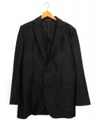 1piu1uguale3(ウノピゥウノウグァーレトレ)の古着「カモ柄トラベルジャケット」 ネイビー