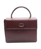 Cartier(カルティエ)の古着「ハンドバッグ」|ワインレッド