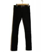 JOHN LAWRENCE SULLIVAN(ジョンローレンスサリバン)の古着「スキニーパンツ」|ブラック
