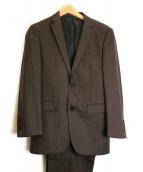 BURBERRY BLACK LABEL(バーバリーブラックレーベル)の古着「セットアップスーツ」|ブラウン