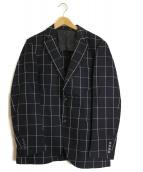 MACKINTOSH PHILOSOPHY(マッキントッシュフィロソフィー)の古着「リネン混アンコンジャケット」|ネイビー