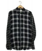 DRIES VAN NOTEN(ドリスヴァンノッテン)の古着「ジップアップシャツジャケット」