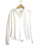 Frank&Eileen(フランクアンドアイリーン)の古着「オックスフォードスキッパーシャツ」|ホワイト