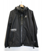 AAPE BY A BATHING APE(エーエイプ バイアベイシングエイプ)の古着「ジップアップジャケット」|ブラック