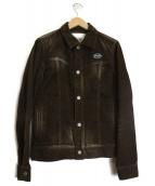 RUDE GALLERY BLACK REBEL(ルードギャラリーブラックレーベル)の古着「コーデュロイジャケット」 ブラウン