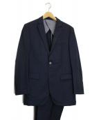BURBERRY BLACK LABEL(バーバリーブラックレーベル)の古着「2Bセットアップスーツ」|ネイビー