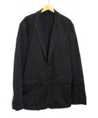 DIESEL(ディーゼル)の古着「JOGG JEANSテーラードジャケット」|ブラック