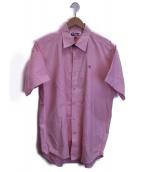 AAPE BY A BATHING APE(エーエイプ バイアベイシングエイプ)の古着「オックスフォードシャツ」|ピンク